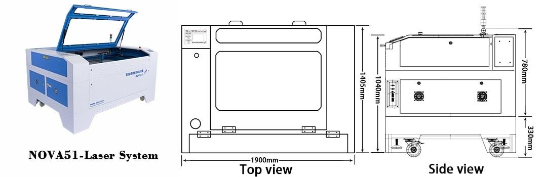 TH laser : Nova 51-100 W : Laser Cutter, image 2