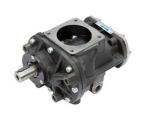 Belt driven oil lubricated screw air compressor